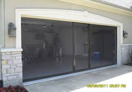 garage screen door track steel safe room doors sliding garage