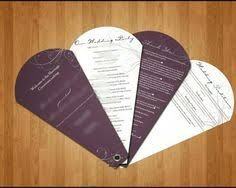 Ceremony Program Fans Wedding Program Fan Vintage Feel To These Unique Wedding Programs