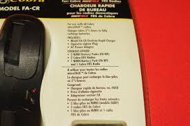 le de bureau à pile cobra fa cr micro frs radio desktop rapid charger 12 120 volt