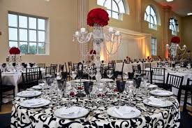 black and white wedding decorations 53 black white and table settings black and white christmas