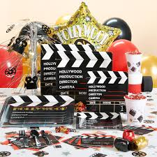 interior design view decorations for hollywood themed party