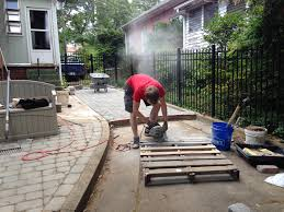 Brock Paver Base Installation by Diy Patio In A Day