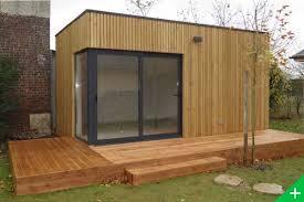 bureau ossature bois extension de maison en bois bureau de jardin