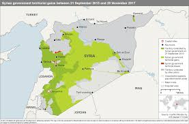 Syria Conflict Map Four Key Territorial Challenges Risk Escalating Syrian Conflict