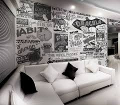 monochrome home decor 6 ways to upgrade your home decor with vintage wall murals u2013 eazywallz