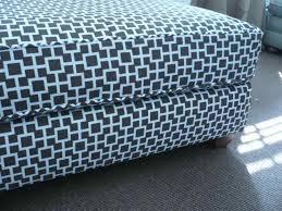 Upholstering An Ottoman Westhton Diy Reupholstering Slipcovering An Ottoman