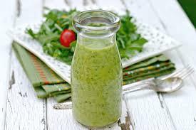 simple dressing recipe thanksgiving creamy avocado citrus salad dressing dishin u0026 dishes