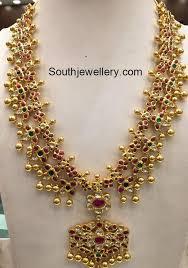 gold haram sets 170 grams gold haram set jewellery designs