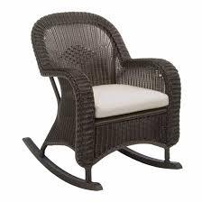 Wicker Rocker Patio Furniture - classic outdoor wicker rocking chair