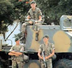 fireforce one man s war in the rhodesian light infantry rhodesian soldiers from support commando of the rhodesian light