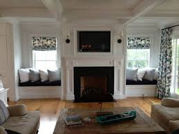 Built In Fireplace Gas by Best 25 Fireplace Between Windows Ideas On Pinterest Fireplace