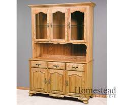 Country Hutch Furniture Hutches Hardwood Dining Room Furniture Homestead Furniture