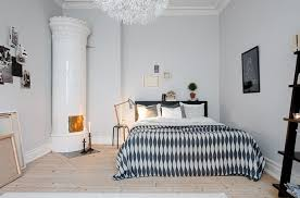 chambre en bois blanc deco chambre style scandinave chambre scandinave noir et blanc