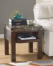 Ashley Bedroom Set With Marble Top Amazon Com Ashley Furniture Signature Design Kraleene End Table
