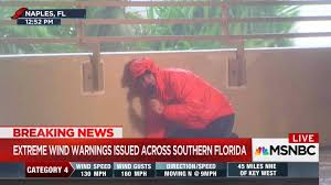 hurricane irma ignoring their own advice tv reporters trade
