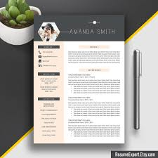 Creative Resume Templates Word Modern Resume Template Us Letter A4 Cover Letter Cv Template