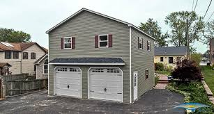 two story garage prefab garage with apartment horizon structures mega garages