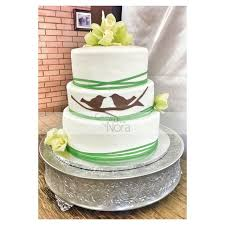 yellow green and white wedding u2013 cakes and more by nora