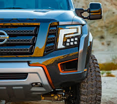 Nissan Titan Concept The Nissan U0027titan Warrior U0027 Is An Off Roading Pick Up Mean Machine