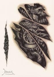 karmaela designer temporary tattoo cyborg gash www karmaela com
