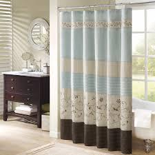 Croscill Opulence Shower Curtain Bathroom Aucalyptus Extra Long Shower Curtains With Leaves