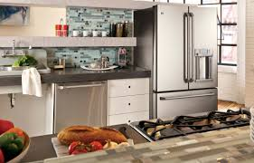 Kitchen Stainless Steel Cabinets Stainless Steel Kitchen Appliance Cleaner Subway Tile Vinyl Blinds