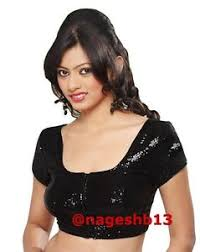 readymade blouses readymade saree blouse ready to wear black sequin sari blouse