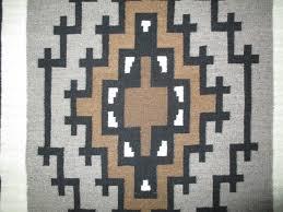 Navajo Rug Song Dorothy Mike Two Grey Hills Tapestry Weaving Navajo Rug