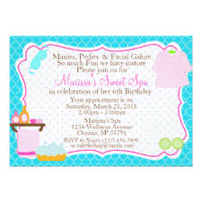 spa invitation wording 28 images spa day birthday invitations
