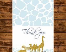 safari thank you etsy