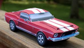 Pink And Black Mustang 1968 Mustang Gt500 Kr Paper Model Bluespringsfordparts Com