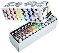 paint acrylic tubes tube pebeo studio 22ml painting colors