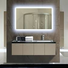 wall mirrors lighted wall mounted mirrors for bathrooms large