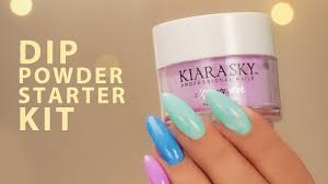 dip powder nails starter kit a pro review youtube