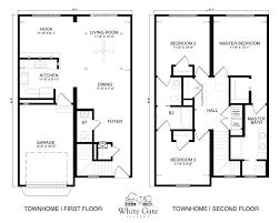 100 townhouse floor plan luxury modern blueprints u2013