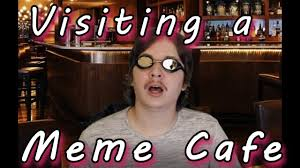 Cafe Meme - visiting a meme cafe youtube