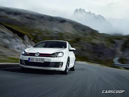 new vw golf vi gti 210hp 31 high res photos and official details