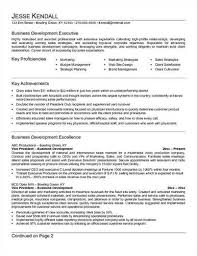 Resume Of Business Development Executive Business Development Sample Resume Template Resume Of Business