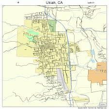 map ukiah ukiah california map 0681134