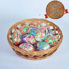 paper mache easter baskets easter eggs exporter from hyderabad