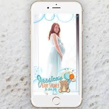 for baby shower baby shower snapchat filter snap filter
