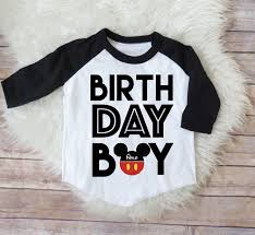 mickey mouse birthday shirt birthday boy mickey mouse personalized raglan shirt mickey