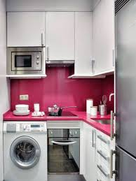 kitchen cabinet space saver ideas amys office cool white and pink combine kitchens for small spaces with modern decor ideas cabinet sophisticated stove