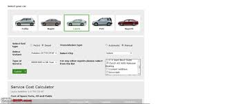 skoda steps towards transparency online service cost calculator