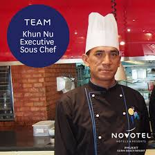 sous chef cuisine khun nu is our executive sous chef who helps our chef creating