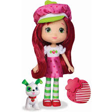 strawberry shortcake doll with pupcake walmart com