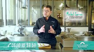 publicité cuisine publicité centre européen de formation cuisine michel sarran