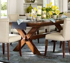 Extendable Dining Tables by Toscana Extending Dining Table Tuscan Chestnut Pottery Barn