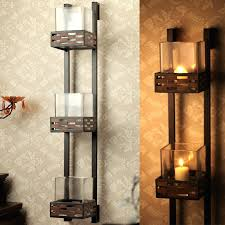 Glass Wall Sconce Candle Holder Metal Wall Sconces Wall Sconces For Candles With Glass Sconces For