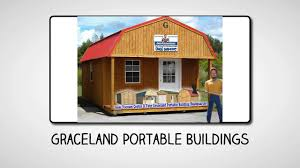 Derksen Portable Finished Cabins At Enterprise Center Youtube Portable Buildings Walterboro Sc Graceland Portable Buildings